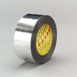 3M High Temperature Aluminum Foil Glass Cloth Tape 363
