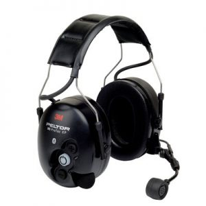 3M PELTOR WS ProTac XP Communication Headset featuring Bluetooth technology - Headband