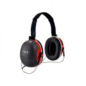 3M PELTOR X3 Earmuffs X3B, Behind-the-Head