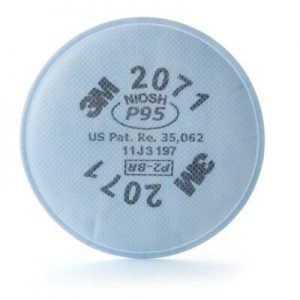 3M Particulate Filter 2071, P95