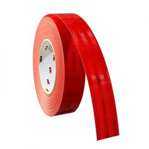 3M Reflective Tape Red 983-72