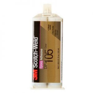 3M ScotchWeld Epoxy Adhesive DP105 Clear
