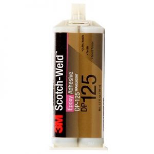3M ScotchWeld Epoxy Adhesive DP125 Translucent