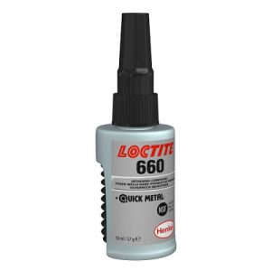 Loctite 660 Quick Metal Retaining Compound 50ML